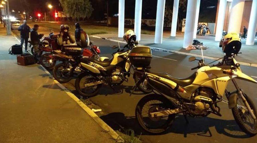 Polícia Militar atende ACISC e realiza fiscalização em motos barulhentas