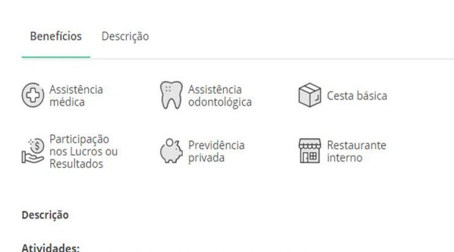 VAGA DE EMPREGO para Técnico em Segurança do Trabalho em São Carlos