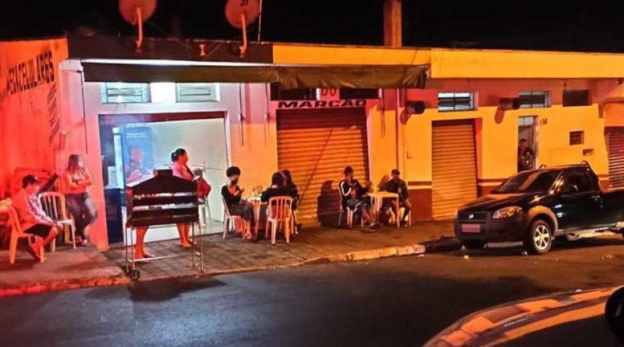 """Força Tarefa interdita """"pancadão"""" com mais de 100 pessoas e 3 bares em São Carlos"""