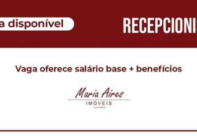 Maria Aires Imóveis abre VAGA DE EMPREGO e Contrata RECEPCIONISTA em São Carlos